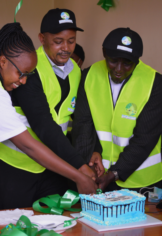 Ndarasha Office Launch -Cake Cutting